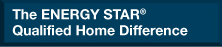 The ENERGY STAR® Qualified Home Difference
